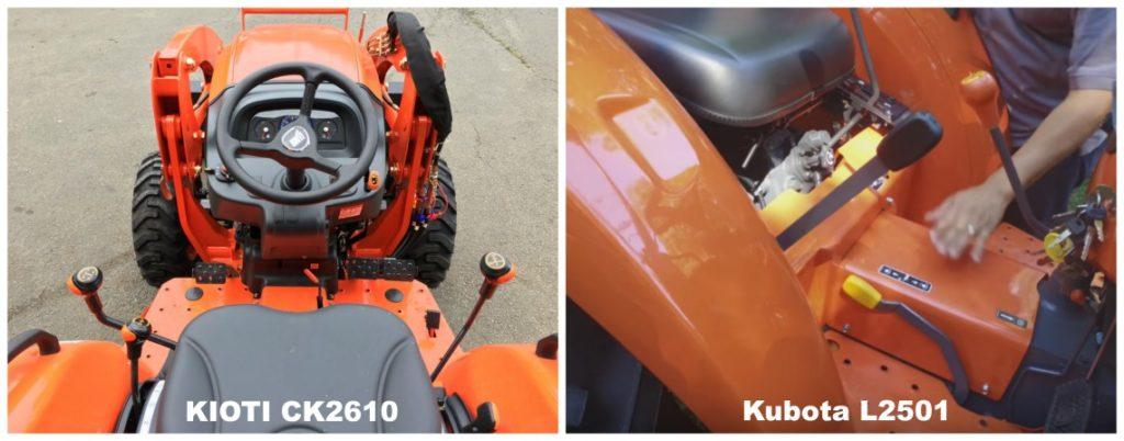 kioti ck2610 vs kubota l2501 platform