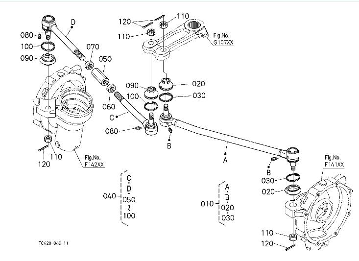 l2501-steering-linkage