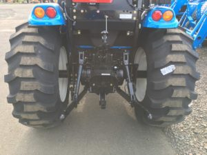 LS Tractor MT3 three point hitch